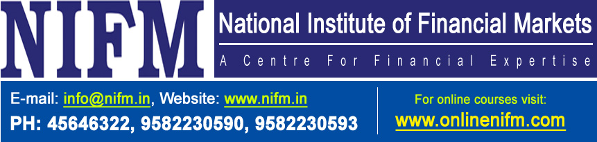 """ NIFM "" National Institute of Financial Markets"