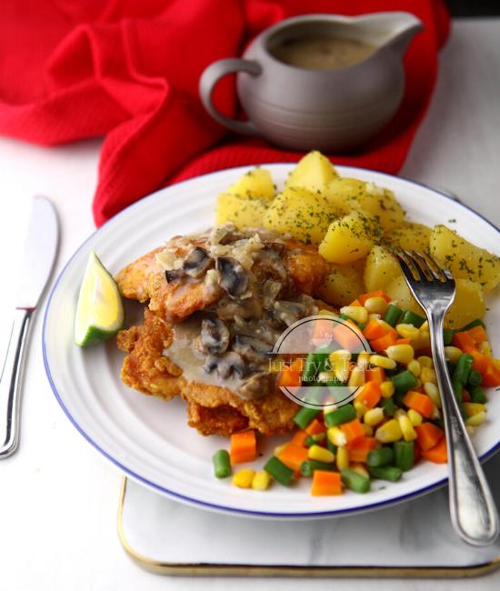 Resep Steak Ayam Goreng JTT
