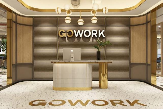 GoWork Coworking Space terbaik premium