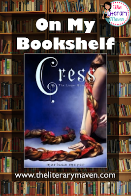 Cress, Book Three of the Lunar Chronicles, by Marissa Meyer is a play on the classic tale of Rapunzel. Instead of being held captive in a tower by an evil witch, Cress is trapped in a satellite and forced to do the bidding of Queen Levena. She joins Cinder, Throne, Scarlet, and Wolf in their quest to stop Queen Levena's quest for domination over Earth and to return Cinder to Luna as the true queen. Read on for more of my review and ideas for classroom use.