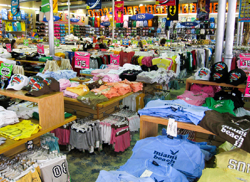 Lojas de roupa em Miami  3698c103c88