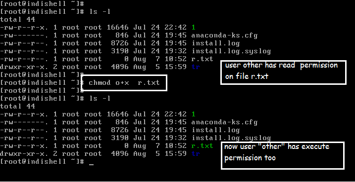 file permissions in Linux | Start With Linux | Mannu Linux