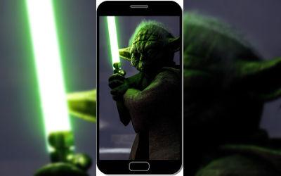Yoda dans Star Wars Battlefront - Fond d'Écran en QHD pour Mobile