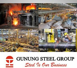 Loker Untuk Lulusan SMA/SMK Terbaru PT Gunung Raja Paksi (Gunung Steel Group) Bekasi