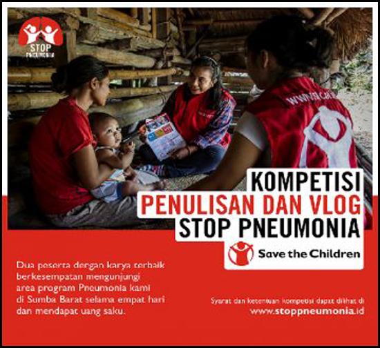 Kontes Blog dan Vlog STOP Pneumonia