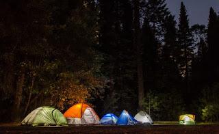 Camping at Dwijing