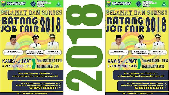 Job Fair Kabupaten Batang (Gratis)