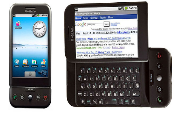 First Days: Android 1.0 to 1.1