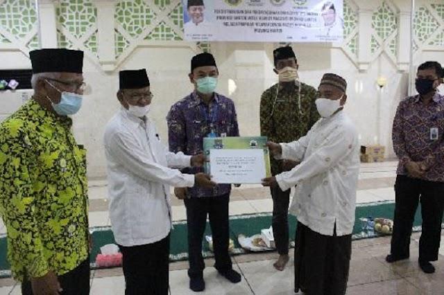 Ratusan Marbot Di Kabupaten Tangerang Dapat Bantuan Tunai
