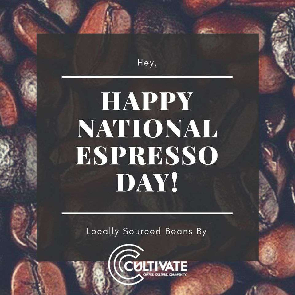 National Espresso Day Wishes Beautiful Image