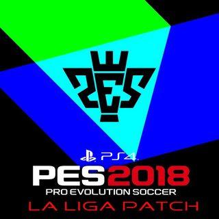 Patch PES 2018 Terbaru dari LaLiga Patch