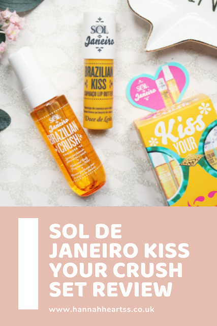 Sol de Janeiro Kiss Your Crush Set - Feel Unique Exclusive