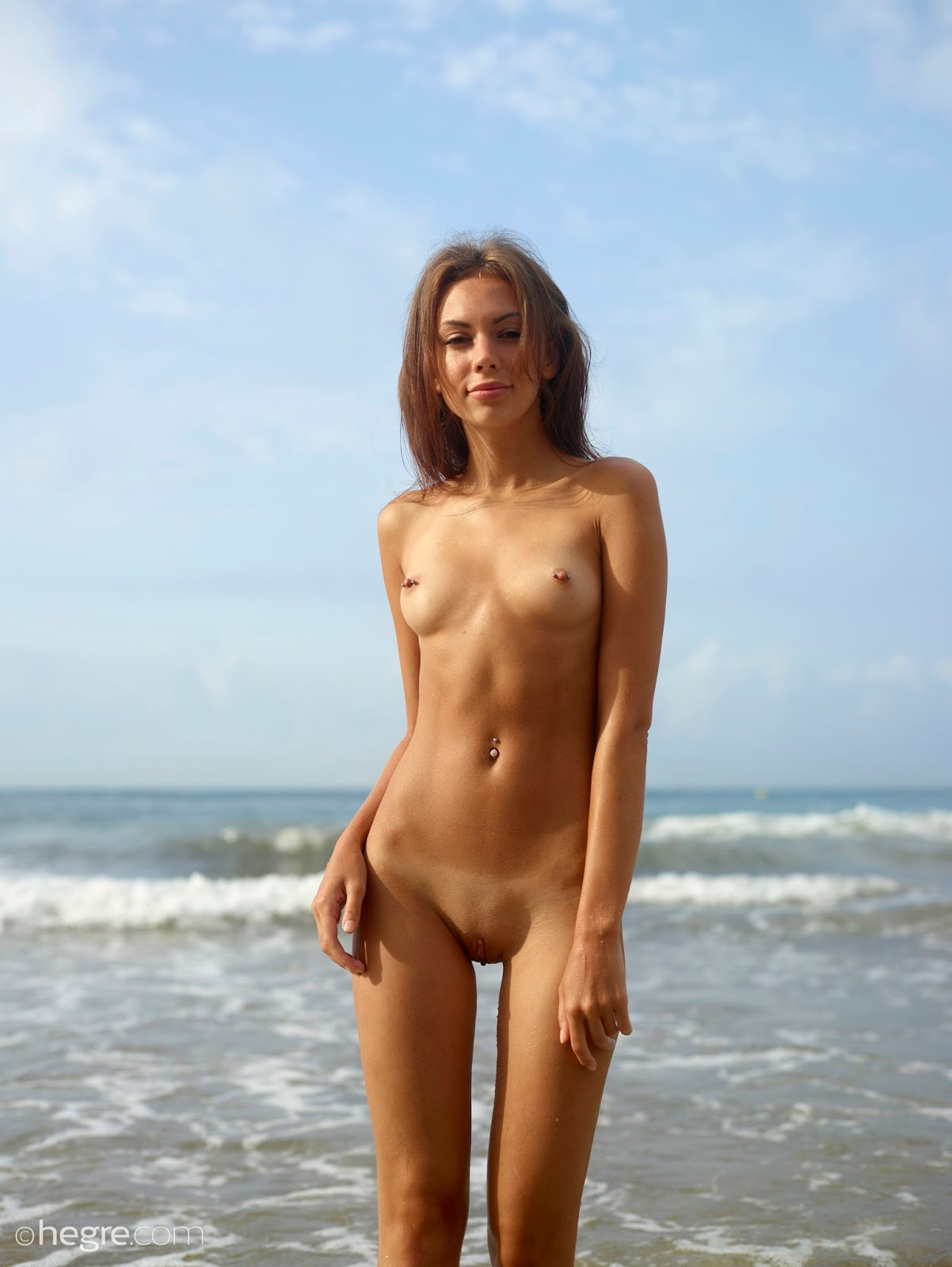 Beach bukkake 2 with 5 guys amp nataliek outdoors in public 10