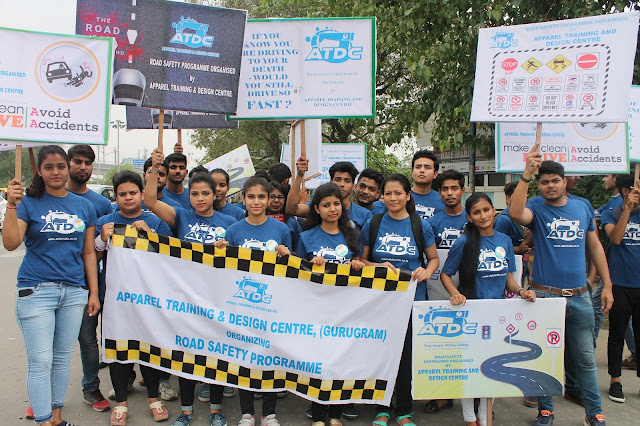 ATDC GURGAON LAUNCHES ROAD SAFETY CAMPAIGN PROGRAM