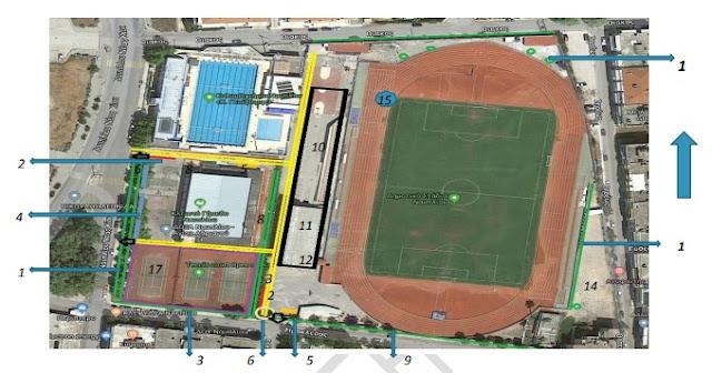 Ναύπλιο: Πρόταση διαμόρφωσης χώρου από την ομάδα Αθλητισμού του ΔΟΠΠΑΤ