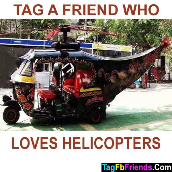 Tag a friend who loves helicopters