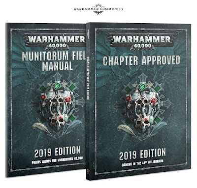 Chapter Approved 2019 Munitorum Field Manual 2019