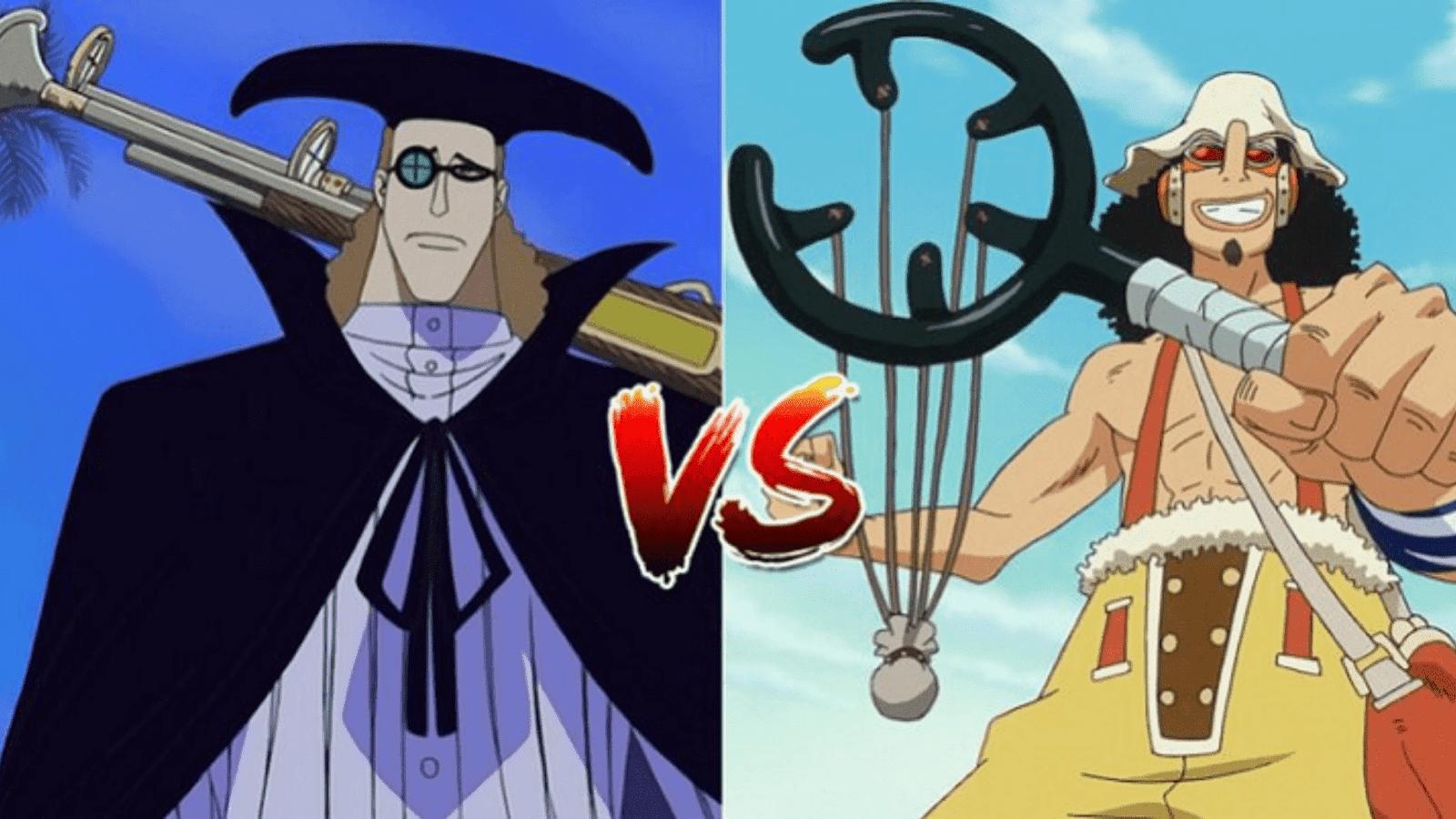 Van Augur vs Usopp
