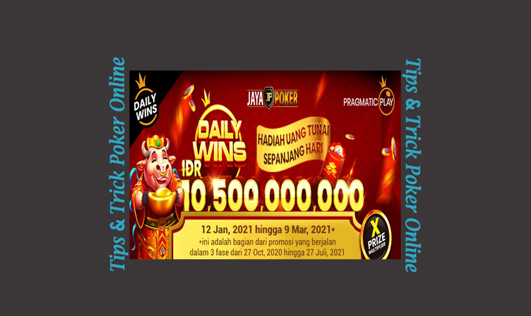 [EVENT JAYAPOKER] Promo Daily Wins Golden Ox Fortune 2021