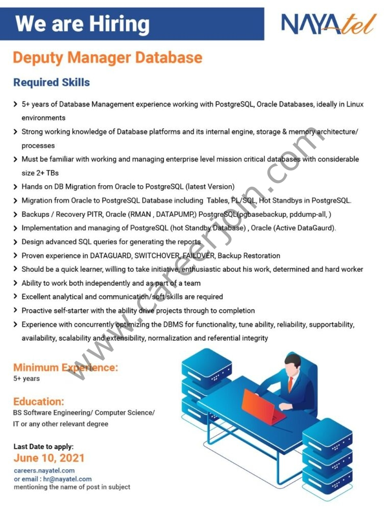 careers.nayatel.com Jobs 2021 - Nayatel Jobs 2021 in Pakistan