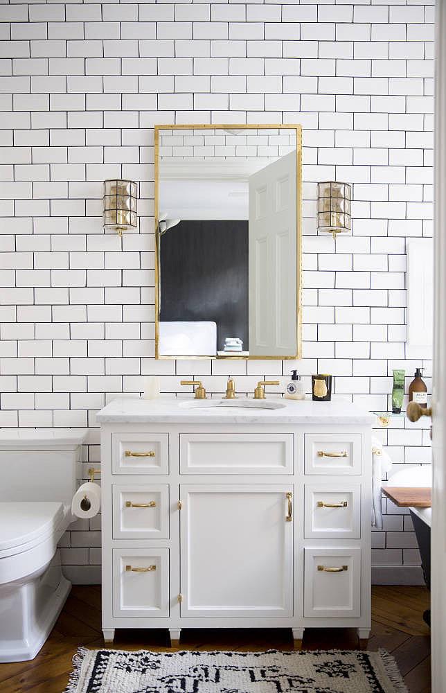 Дизайн маленькой ванной комнаты 2017