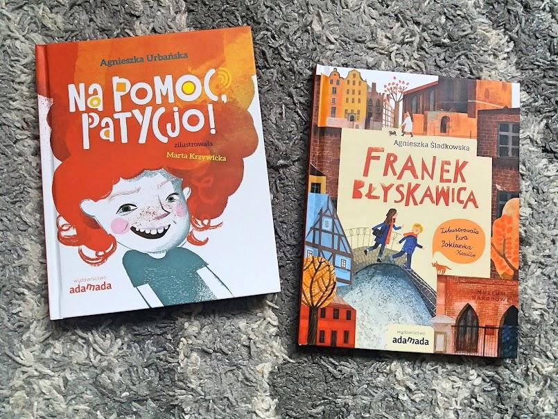 """""""Na pomoc, Patycjo!"""" - Agnieszka Urbańska, """"Franek Błyskawica"""" - """"Agnieszka Śladkowska"""