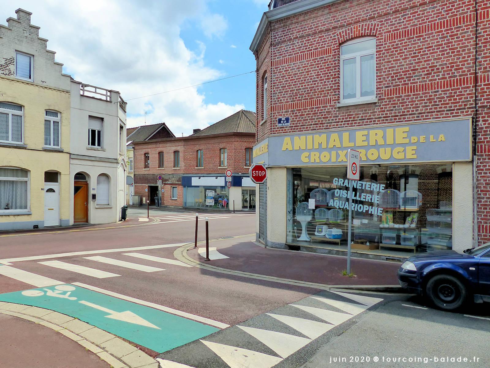 Rue de la Croix Blanche, Tourcoing 2020