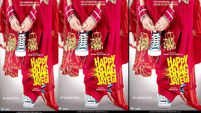 Happy Bhaag Jayegi First look