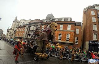 Irlande Dublin Parade de la Saint Patrick