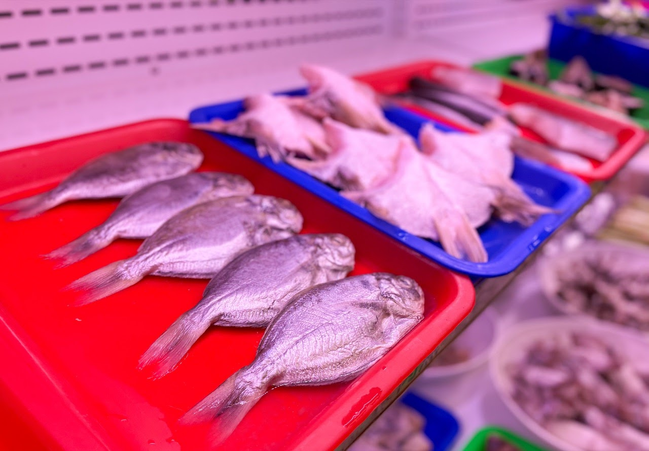 [高雄][林園]阿香澎湖碳烤 當天現捕漁獲、超大魷魚、澎湖鮮蚵、現煮小卷麵線超狂豐富食材吃到飽 平價碳烤CP值超高