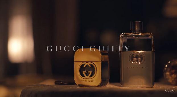 Modelle e Attore Gucci pubblicità profumo Guilty con Jared Leto con Foto - Testimonial Spot Pubblicitario Gucci 2016