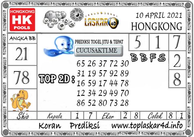 Prediksi Togel HONGKONG LASKAR4D 10 APRIL 2021