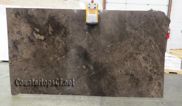 Frappuccino marble slabs
