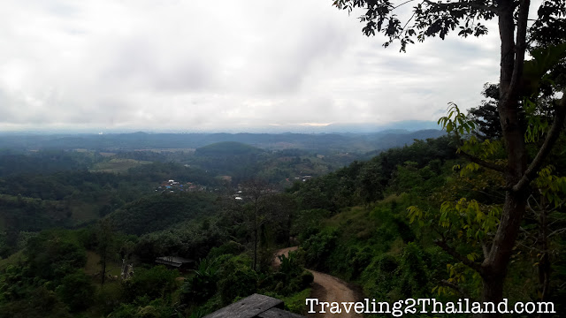 View from xxxxx Resort along route 1149 in North Thailand
