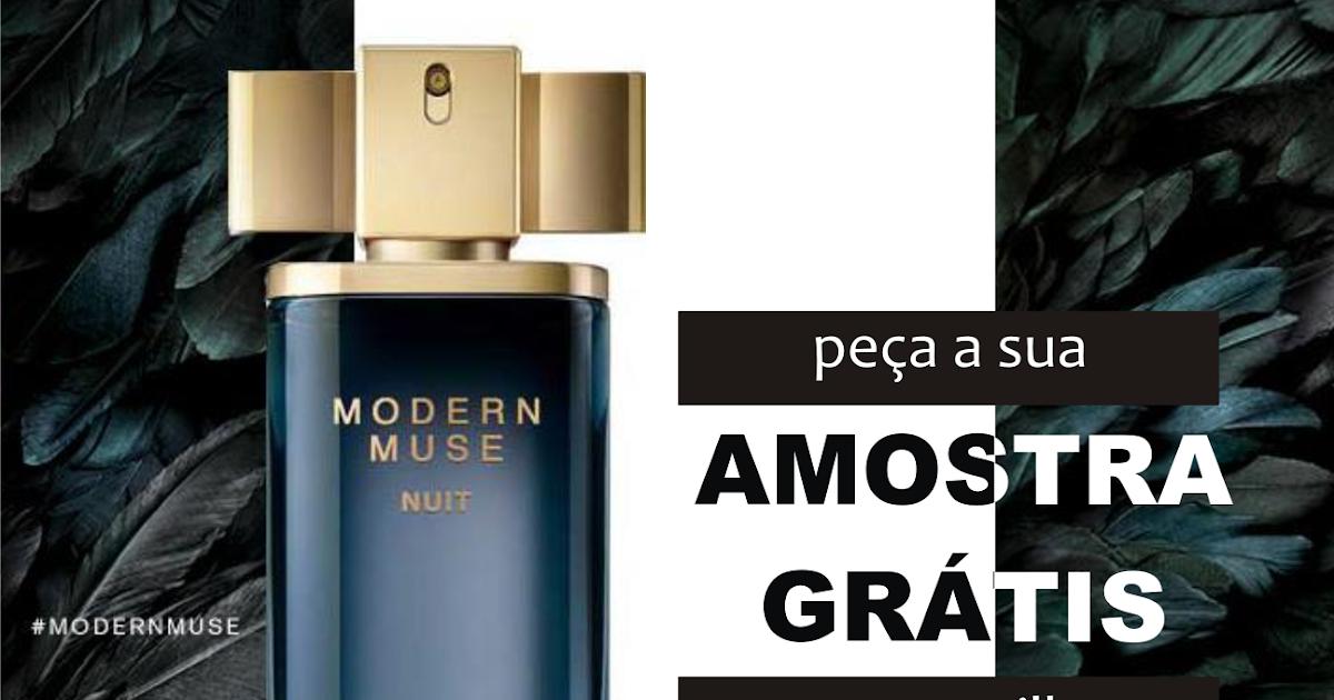 3e42ae425 click · Amostras Grátis - Perfume Modern Muse Nuit de Estée Lauder