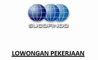 Informasi Lowongan Kerja Terbaru BUMN PT Sucofindo SBU Laboratorium