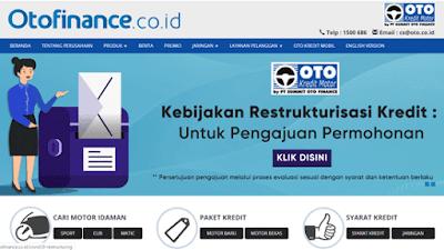 halaman website resmi oto finance