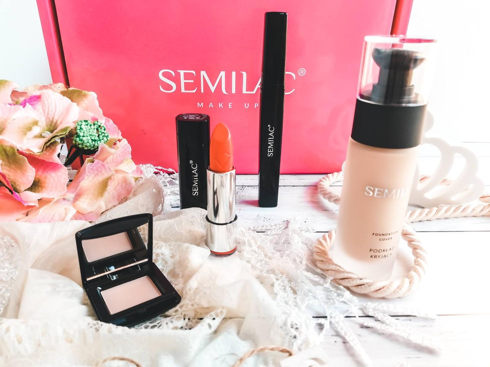 Kosmetyki do makijażu Semilac | Ambasadorka Streetcom |  #SemilacMakeUp #DługotrwałyEfekt #NajpiękniejszeKolory