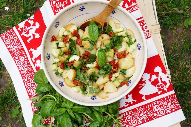 salade pommes de terre alsace, sans gluten