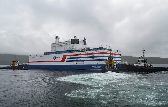 Akademik Lomonosov: Russia's floating nuclear power plant
