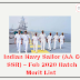 Indian Navy Sailor (AA & SSR) – Feb 2020 Batch Merit List
