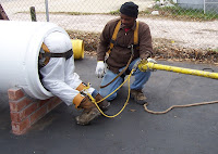 confined space, industrial cleaning, silo cleaning