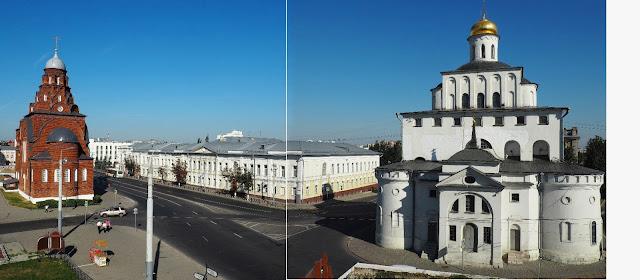 Владимир, Золотые ворота (Vladimir, Golden gate)