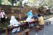 Kodim Buleleng Pantau Dan Awasi Tes Swab Covid-19 Di Wilayah Tejakula