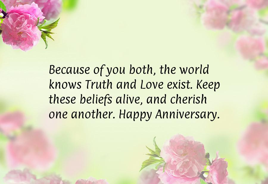 Lovely marriage anniversary wishes sms quotes love