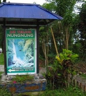 Wisata Air Terjun Nungnung Di bali. Badung, Petang