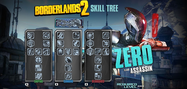 Borderlands 2 Assassin Skill Tree