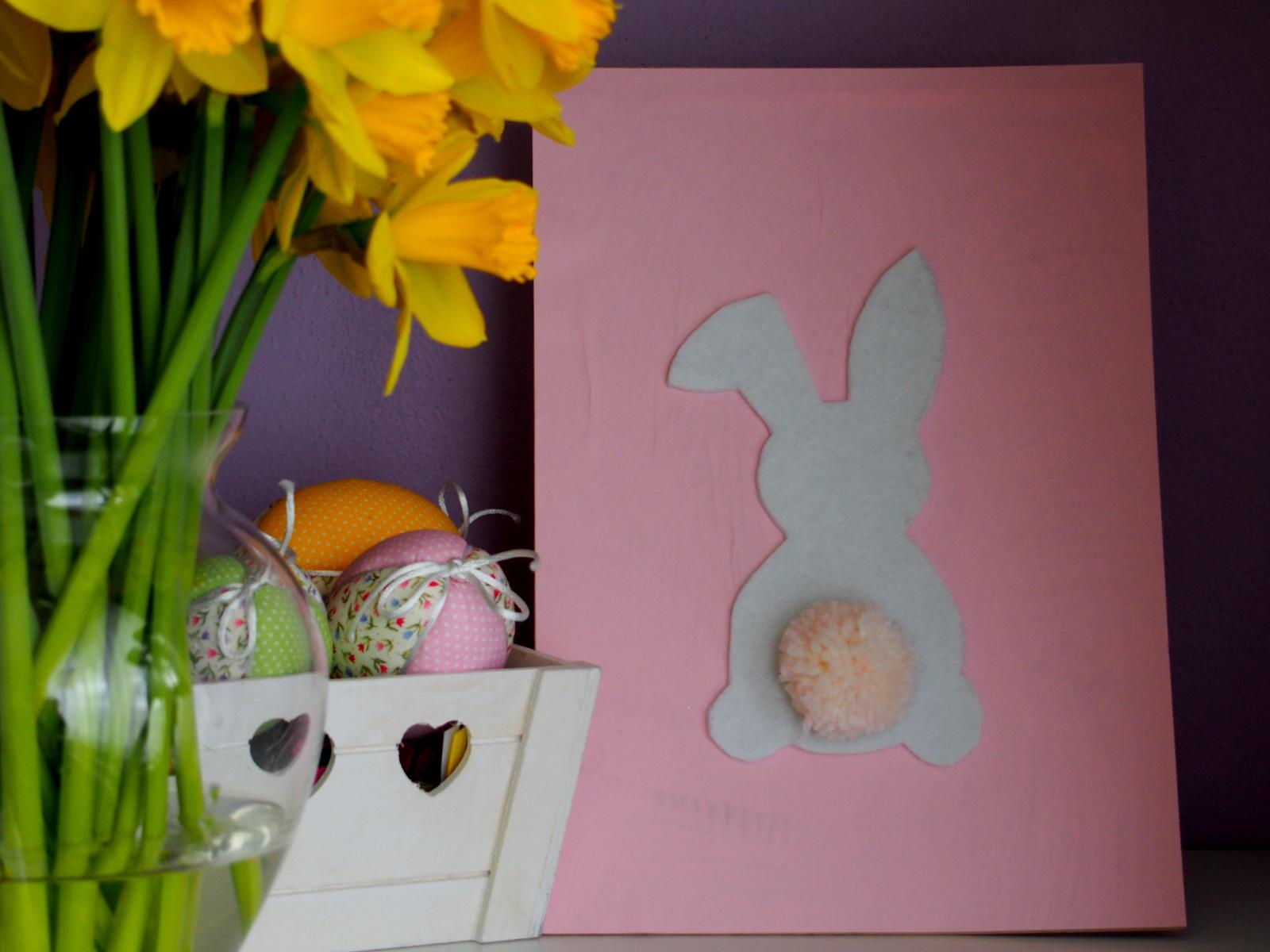 veľkonočný obraz // easter bunny