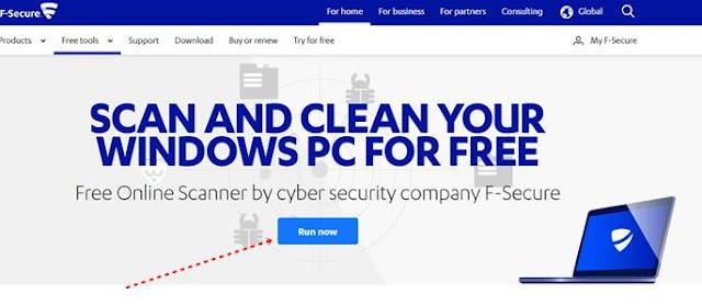 Website Scan Virus Online 2020