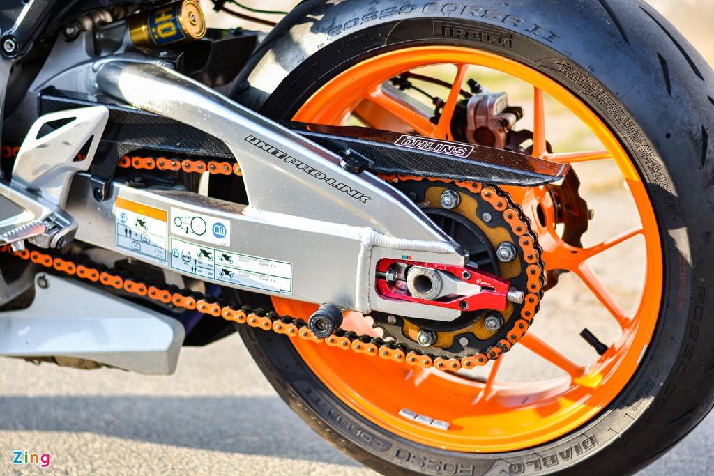 Honda CBR1000RR với gói độ hơn 150 triệu của dân chơi TP.HCM